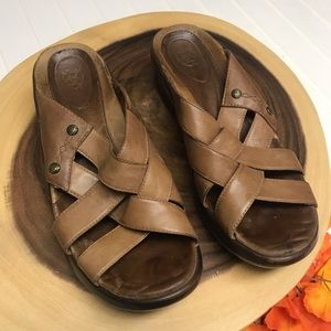 Ariat Woven Slide In Mules Wedges